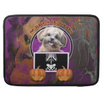 Halloween - Just a Lil Spooky - ShihPoo - Maggie Sleeve For MacBooks