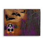 Halloween - Just a Lil Spooky - Springer Spaniel Envelope