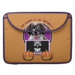 Halloween - Just a Lil Spooky - Springer Spaniel MacBook Pro Sleeve