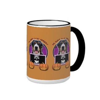 Halloween - Just a Lil Spooky - Swissie Ringer Coffee Mug