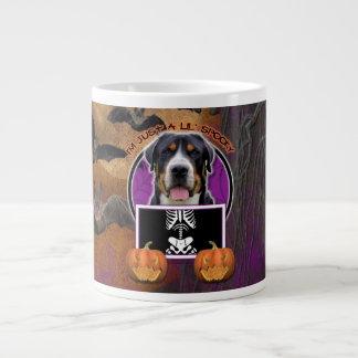 Halloween - Just a Lil Spooky - Swissie 20 Oz Large Ceramic Coffee Mug