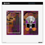 Halloween - Just a Lil Spooky - Weimaraner Skin For Kindle Fire