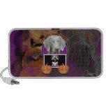 Halloween - Just a Lil Spooky - Weimaraner iPhone Speaker