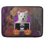 Halloween - Just a Lil Spooky - West Highland Terr Sleeves For MacBook Pro