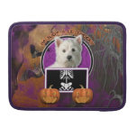 Halloween - Just a Lil Spooky - West Highland Terr Sleeve For MacBook Pro
