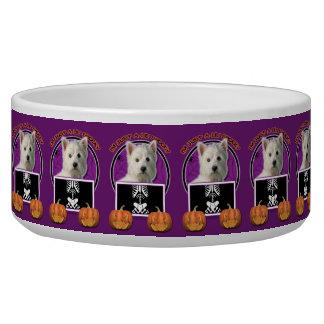 Halloween - Just a Lil Spooky - Westie Pet Food Bowls