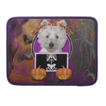 Halloween - Just a Lil Spooky - Westie - Tank Sleeves For MacBooks