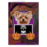 Halloween - Just a Lil Spooky - Yorkie Cards