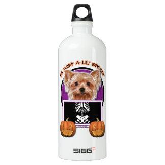 Halloween - Just a Lil Spooky - Yorkie SIGG Traveler 1.0L Water Bottle