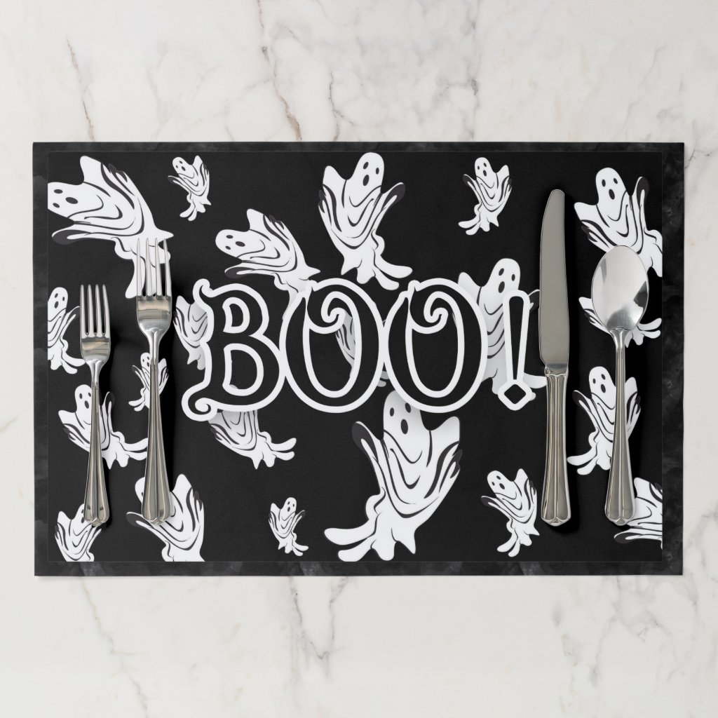 Halloween - Just Ghostly Placemat