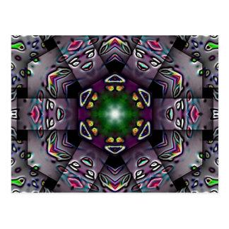 Halloween Kaleidoscope Post Cards
