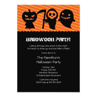 Halloween Kawaii Costume Party Invitation