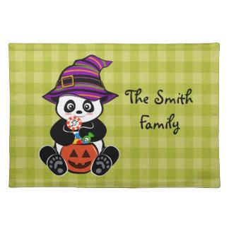 Halloween Kawaii panda Placemat