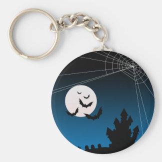 Halloween Key-Chain Basic Round Button Keychain