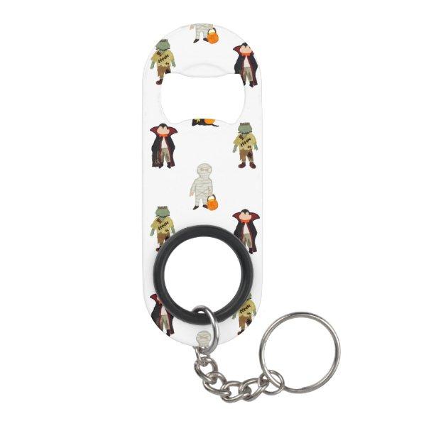 Halloween Keychain Bottle Opener