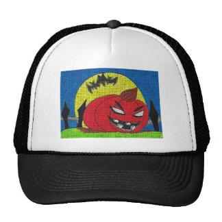 Halloween Kids Abstract Arts Mesh Hats