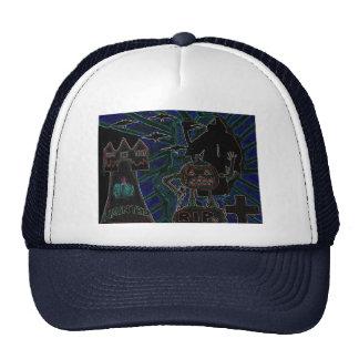 Halloween Kids Abstract Arts Trucker Hat