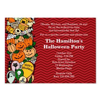 Halloween Kid's Costume Party Custom Invites