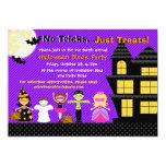 "Halloween Kids Halloween Costume Party Invite 5"" X 7"" Invitation Card"