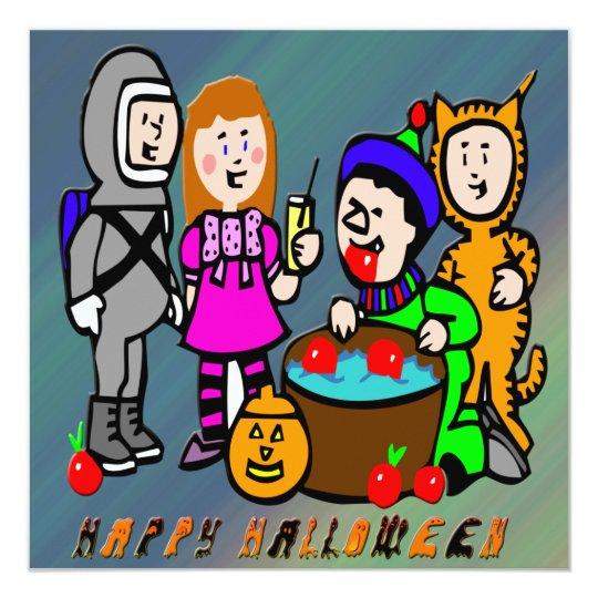 Halloween Kids Invitation