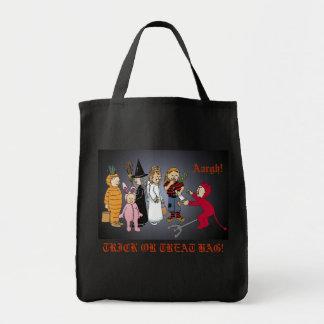Halloween Kids, TRICK OR TREAT BAG! Aargh! Tote Bag