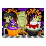 Halloween Kitchen Card - SRF Large Business Cards (Pack Of 100)