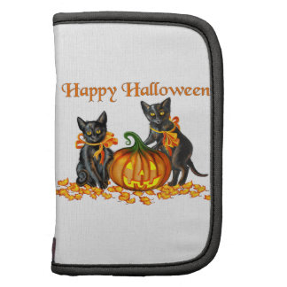 Halloween Kittens Rickshaw Folio Folio Planners