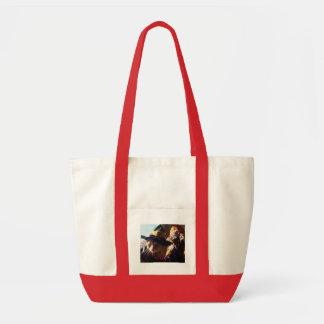 Halloween Kitty Tote Bags