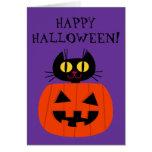 Halloween Kitty Card