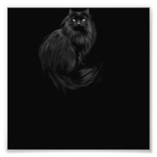 Halloween kitty cat photo art