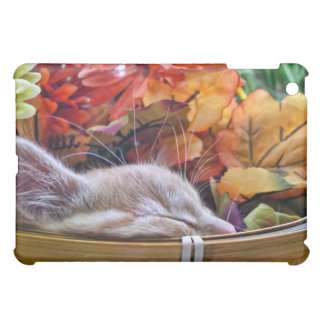 Halloween Kitty Cat, Thanksgiving Holiday Season Cover For The iPad Mini