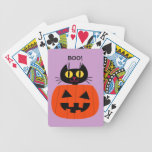 Halloween Kitty Deck Of Cards