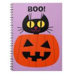 Halloween Kitty Journal