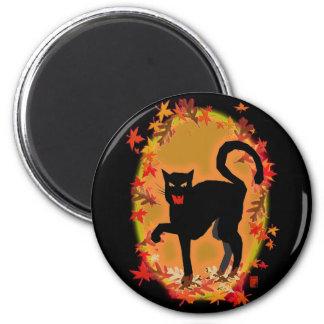 halloween kitty magnet