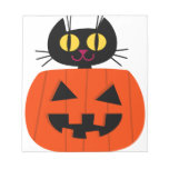 Halloween Kitty Memo Note Pad
