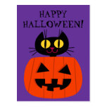 Halloween Kitty Post Cards