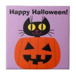 Halloween Kitty Tiles
