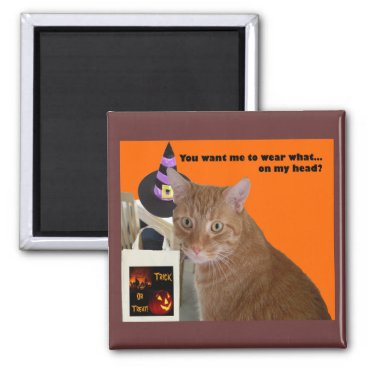 Halloween Themed Halloween Kitty - Wear What Magnet