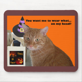Halloween Kitty - Wear What Mouse Pad