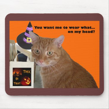 Halloween Themed Halloween Kitty - Wear What Mouse Pad