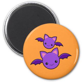 Halloween Koumori 2 Inch Round Magnet