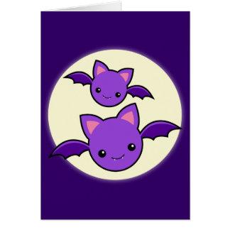 Halloween Koumori Card