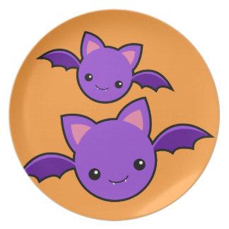 Halloween Koumori Melamine Plate