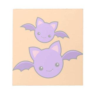 Halloween Koumori Notepad