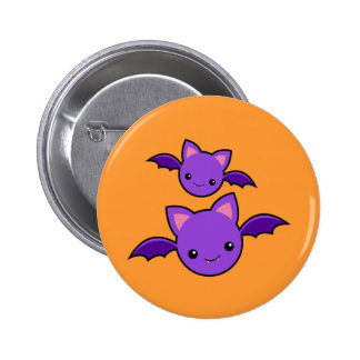 Halloween Koumori Pinback Button