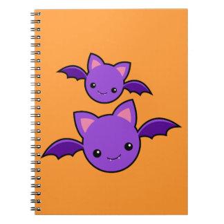 Halloween Koumori Spiral Notebook