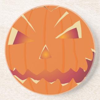 Halloween Kürbis Beverage Coaster