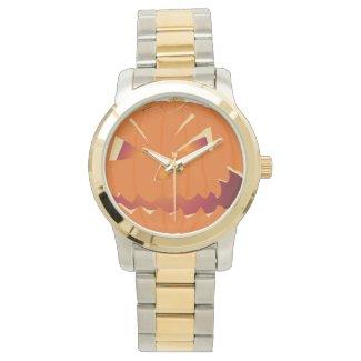 Halloween Kürbis Wrist Watch