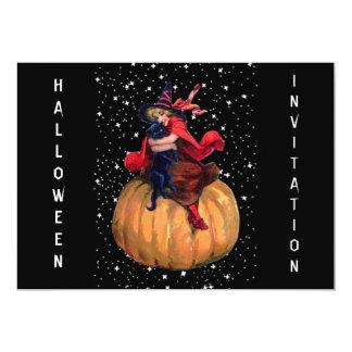 """Halloween: La frontera final Invitación 5"""" X 7"""""""
