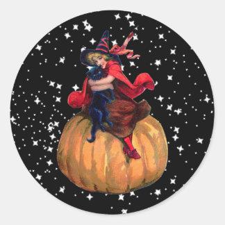 Halloween: La frontera final Pegatina Redonda